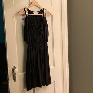 Calvin Klein Black Dress 6 Above Knee worn twice